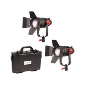 B-30S-2KIT 2 Pc CAME-TV Boltzen 30w Fresnel Fanless Focusable LED Bi-Color