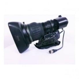 Canon HJ22ex7.6B IRSE  HD Tele zoom lens, Used