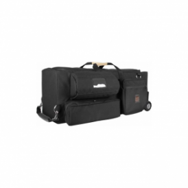 Portabrace RIG-FS7ENGOR Rigid Carrying Case w/ Off-Road Wheels for Sony FS7, Black