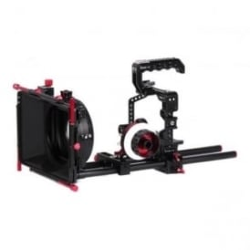 CAME-TV GH5 PLUS 3KIT Protective Cage Plus For GH5 Camera With Mattebox & Follow Focus