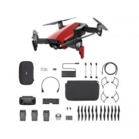 Dji mavicair flymorered Mavic Air Fly More Flame Red