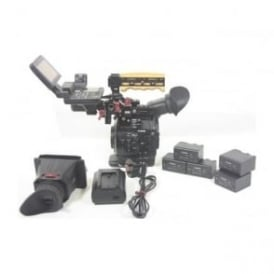 Canon EOS C300 Mark 1 Rig kit 1148 Hours, Used
