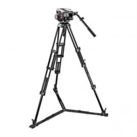 Manfrotto MAN 509HD+545GBK Pro Ground-Twin Kit 100 Tripod|509HD Video Head
