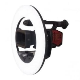 LEDGO LG R320C Large Dimmable LED Ring Light for Use on Location/Studio