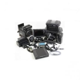 RED EPIC-X MYSTERIUM-X 5K Camera 650 hours with accessories, Used