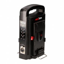 RedPro RP-DC100 Dual V-Mount charger, Ex Demo