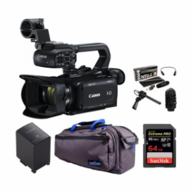 Canon XA15 Compact Full HD professional camcorder package d