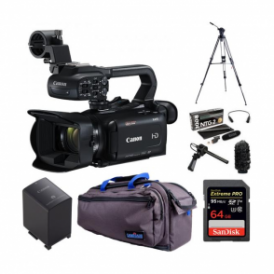 Canon XA15 Compact Full HD professional camcorder package e
