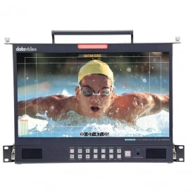"Datavideo DATA-TLM170LM Foldable 1U Rackmount 17.3"" 3G-SDI Full HD LCD Monitor"