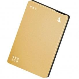 AngelBird AB-PKTU31-512GK 512GB SSD2go PKT USB 3.1 Gen 2 Type-C External Solid State Drive (Gold)