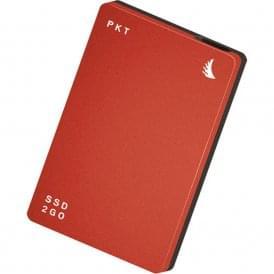 AngelBird AB-PKTU31-512EK 512GB SSD2go PKT USB 3.1 Gen 2 Type-C External Solid State Drive (Red)