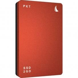 AngelBird AB-PKTU31-1000EK 1TB SSD2go PKT USB 3.1 Gen 2 Type-C External Solid State Drive (Red)