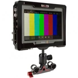 Shape SH-VA4KROD Kit of Cage & 15mm Rod Bloc with Ball Head for Blackmagic Design Video Assist Monitor