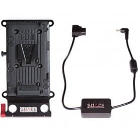 Shape SH-CPVEVA V-Mount Battery Cheese Plate for Panasonic AU-EVA1 & Sony FS7/FS5