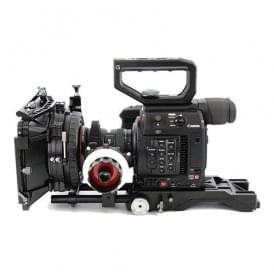 CAME-TV Shoulder Rig For Canon EOS C200 With Mattebox Follow Focus PK03