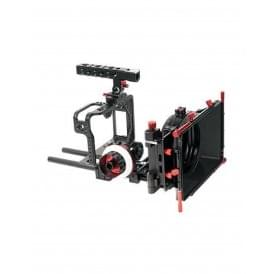 CAME-TV CAME-5D4-3KIT Protective Cage For Canon 5D W Mattebox Follow Focus