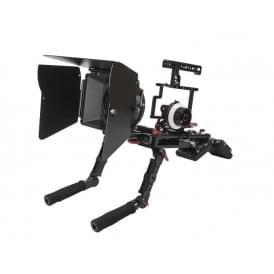 CAME-TV Z-GH5-5 Guardian Cage For GH5 GH4 A7S Camera Rig With Mattebox Follow Focus Z-GH5-5