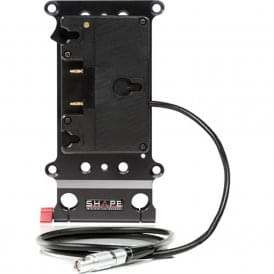 Shape SH-CPGRD Cheese Plate and Gold Mount Battery Plate for RED Camera