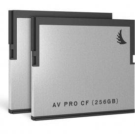 AngelBird AB-AVP256CFX2 256GB AV Pro CF CFast 2.0 Memory Card (2-Pack)