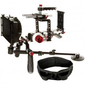 Shape SH-BMBUNDLE Blackmagic Cinema Camera Shouler Mount Offset Bundle