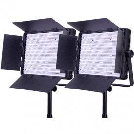 Datavision LG-1200BCLK2 2x 1200 Bi-Colour Location Lighting Kit