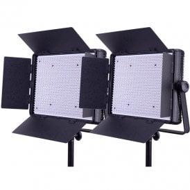 Datavision LG-1200LK2 2x 1200 Daylight Location Lighting Kit