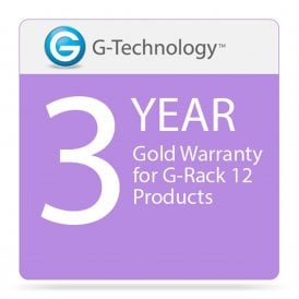 G-Technology GT-HS00192 Gold 3-Year Service Warranty for G-Rack 12 Products