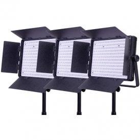 Datavision LG-1200BCLK3 3x1200 Bi-Colour Location Lighting Kit