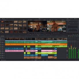 Blackmagic BMD-DV/RESSTUDDONGLE Revolutionary new tools for editing, colour correction and professional audio post production for SD, HD and Ultra HD, all in a single application - Dongle