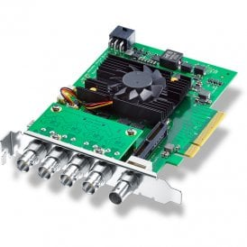 Blackmagic BMD-BDLKHCPRO8K12G Advanced 8 lane PCI Express capture and playback card for high resolution 8K workflows