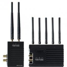 Teradek TER-BOLT-995XT-1G Bolt XT 3000 SDI/HDMI Wireless TX/RX Deluxe Kit - Gold Mount