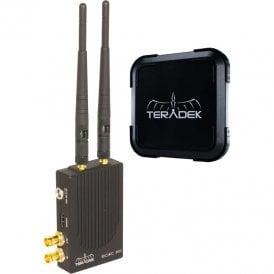 Teradek TER-BOLT-999XT-2G Bolt XT 3000 TX / RX Set and Bolt 10K RX HD-SDI/HDMI Kit - Gold Mount