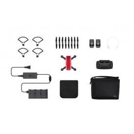 DJI 415014085 Spark Fly More Combo (Lava Red)