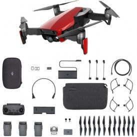 DJI 987-3EE-04D Mavic Air Fly More Combo (Flame Red)