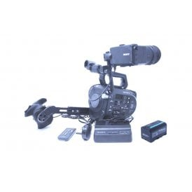 Sony PXW FS7 4K Super 35mm XDCAM Camcorder Body Only 125 Hours, Used