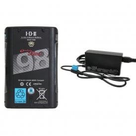 IDX ED-C98/1 1 x DUO-C98 Battery 1 x VL-DT1 Advanced D-Tap Charger Kit