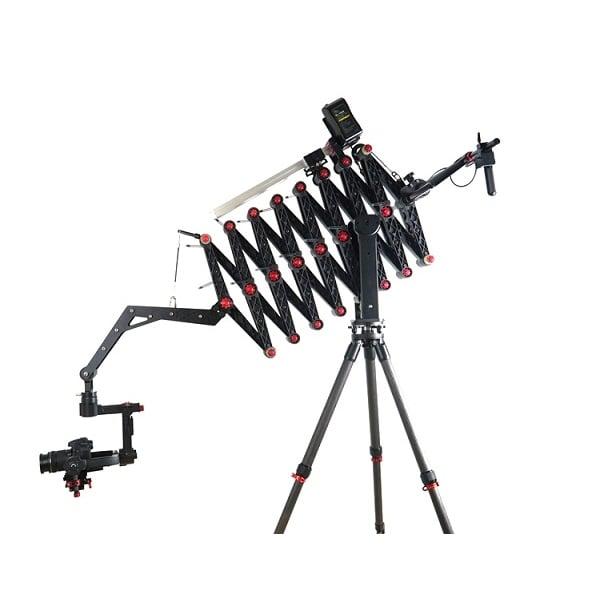 Used Jimmy Jib Crane : Came accordion camera crane jibs