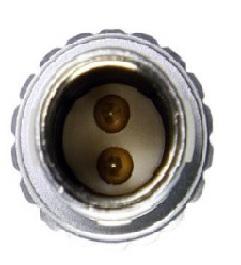 10-Inch Cable Black Teradek Inc Bit-710 2-Pin Lemo to Barrel Adapter