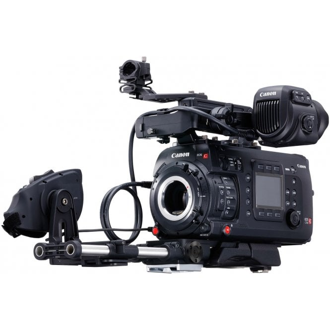 EOS C700EF 4K Camera with mount