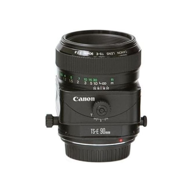 Canon TS-E 90 F2.8 Tilt and Shift 35mm Format Telephoto Lens