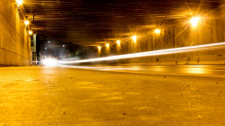 City Road Slow Shutter Speed