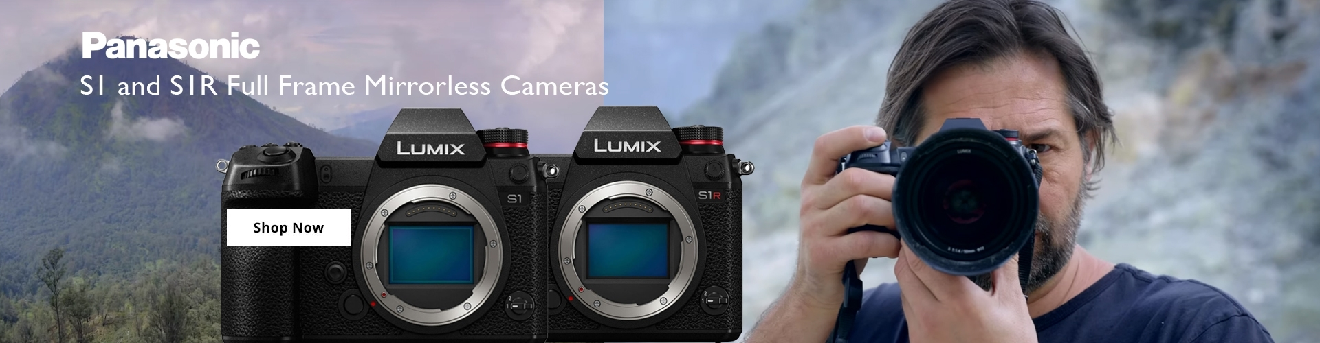 Panasonic S1 and S1r lumix cameras
