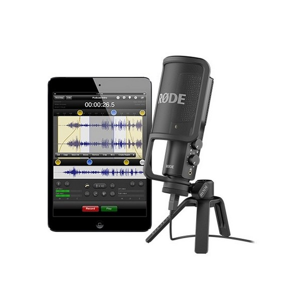 rode ntusb versatile studio quality usb microphone 216. Black Bedroom Furniture Sets. Home Design Ideas
