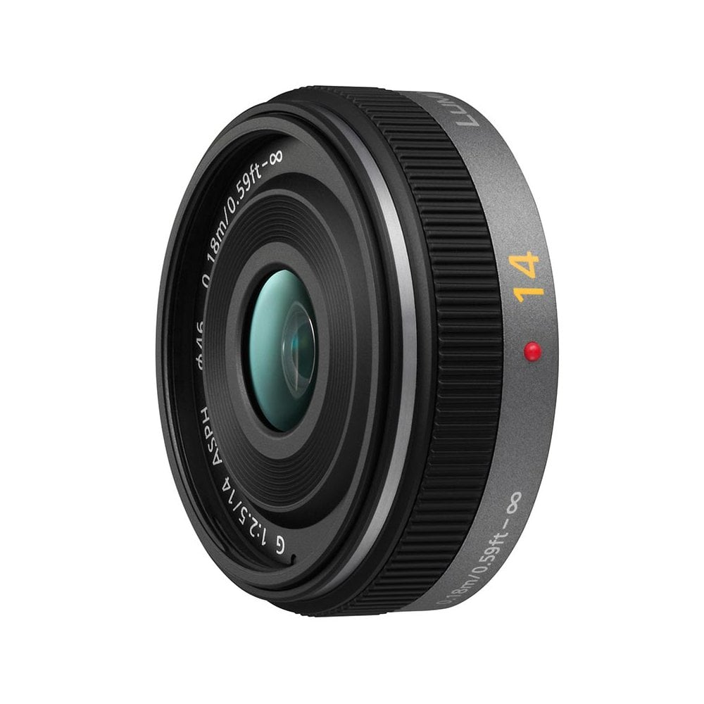 Panasonic Lumix Lumix Micro Four Thirds G 14mm F2.5 ASPH ...