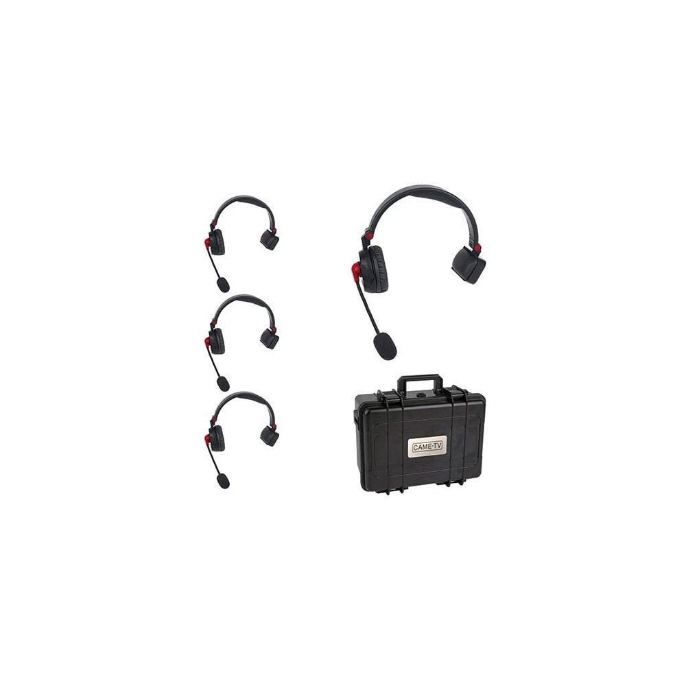 c5e31b3f4bb CAME-TV WAERO Duplex Digital Wireless Foldable Headset Hardcase 4 Pack