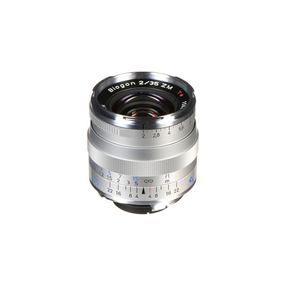 Carl Zeiss Biogon T* 35mm f/2 ZM Lens (Silver)