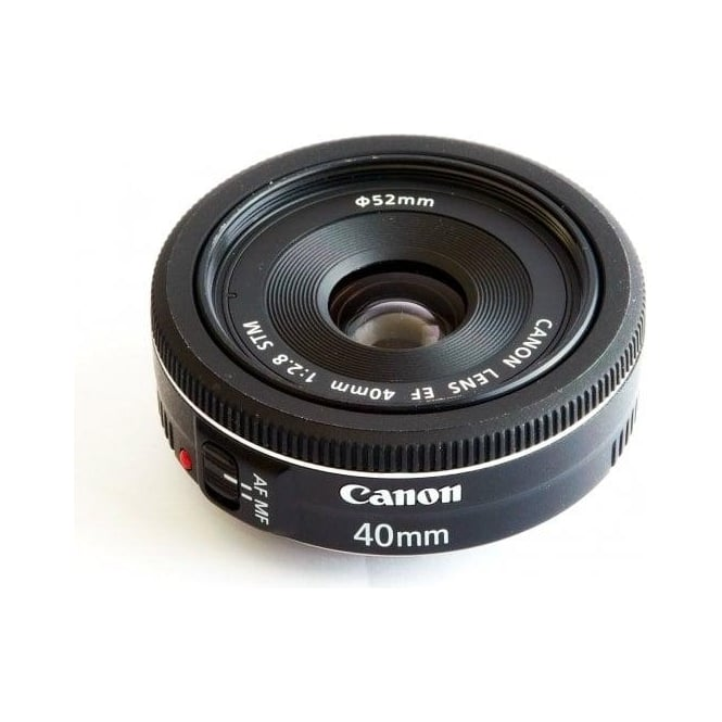 Canon EF 40mm f/2.8 STM Compact Pancake Lens