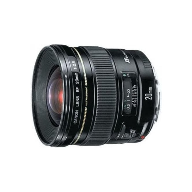 Canon EF 20mm f/2.8 USM Ultra Wide Angle Lens