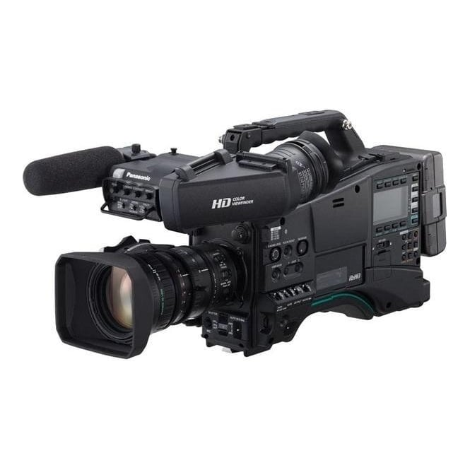Panasonic AJ-PX800GH Camera + CVF15 Viewfinder Bundle