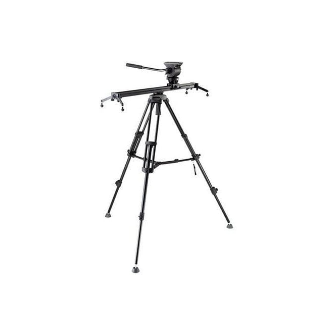 Libec ALX S8KIT Head, Slider 800mm, Tripod, Mid-level spreader, Case